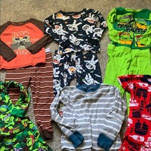 Pajamas - 7 boys pajama sets